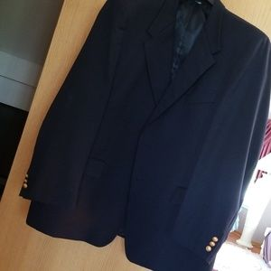 Navy Sport Coat 100% Wool